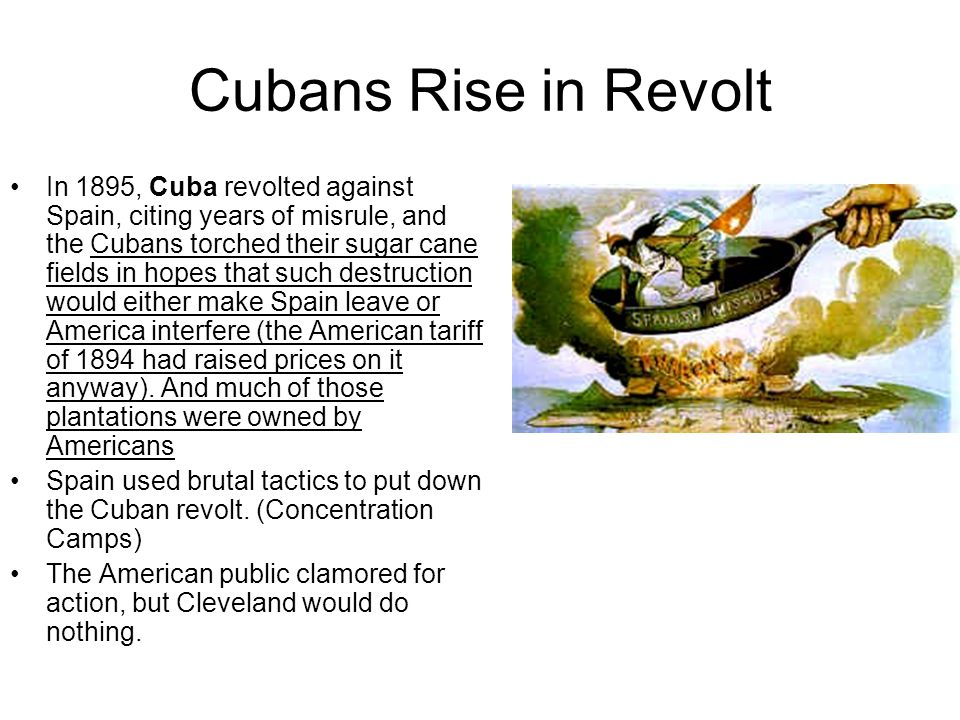 Cubans Rise in Revolt