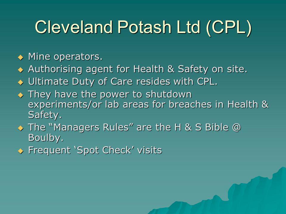 Cleveland Potash Ltd (CPL)