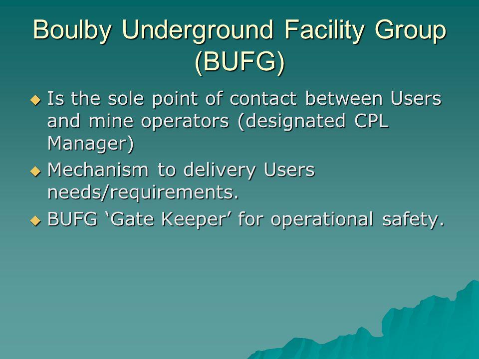 Boulby Underground Facility Group (BUFG)
