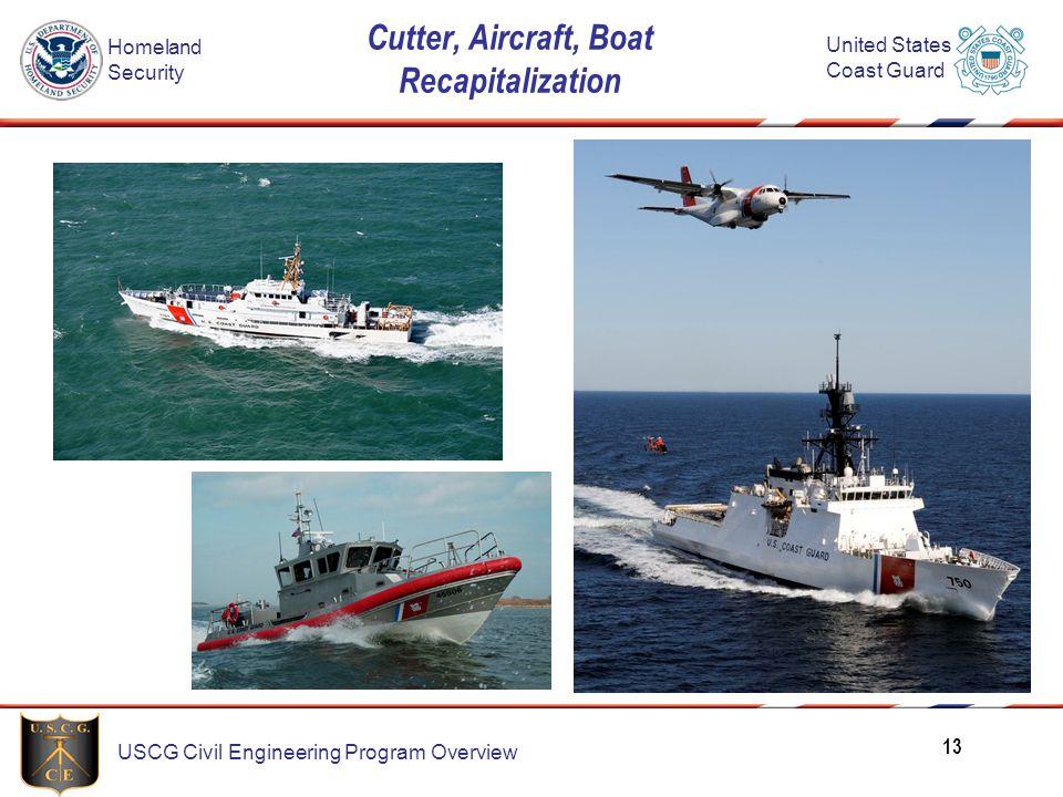 Cutter, Aircraft, Boat Recapitalization