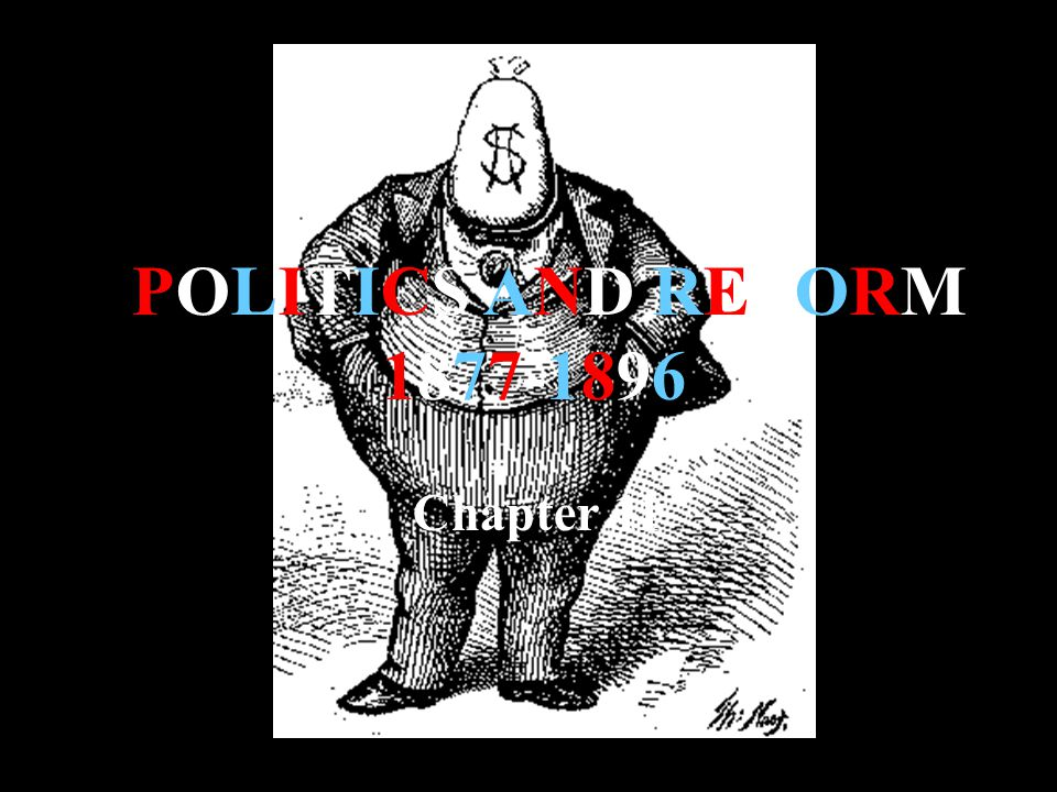 POLITICS AND REFORM 1877-1896 Chapter 11