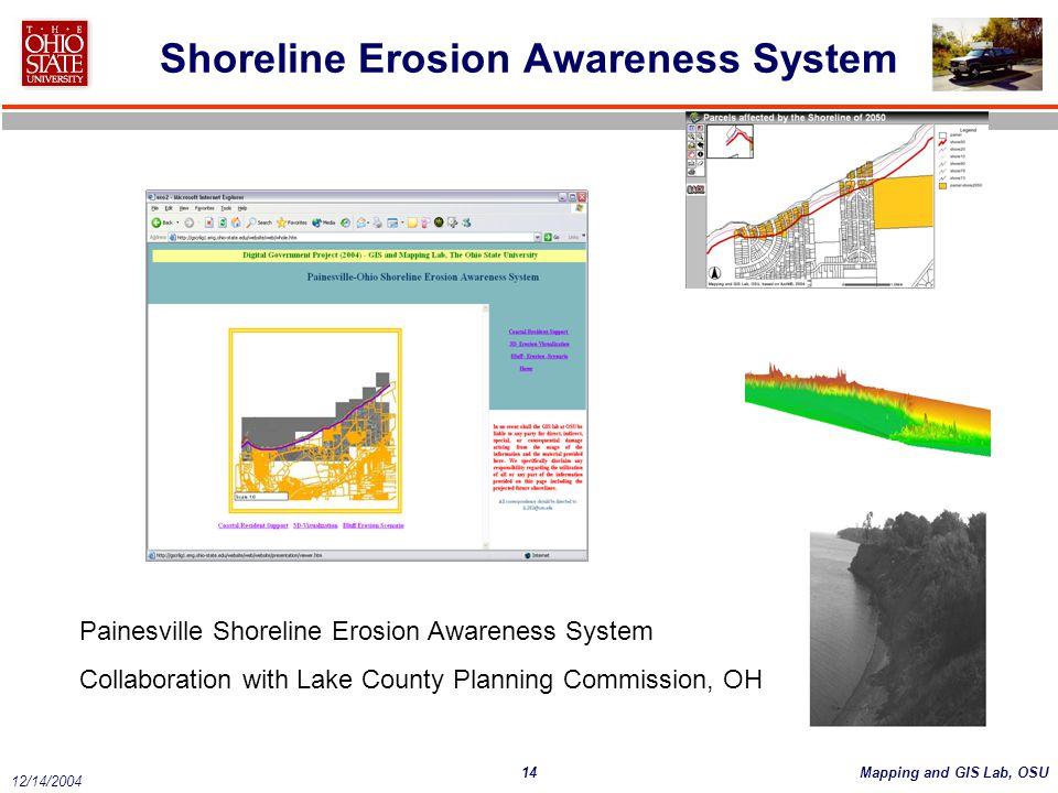Shoreline Erosion Awareness System