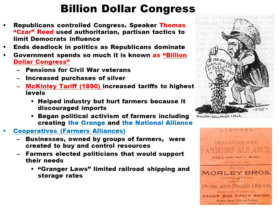 Billion Dollar Congress