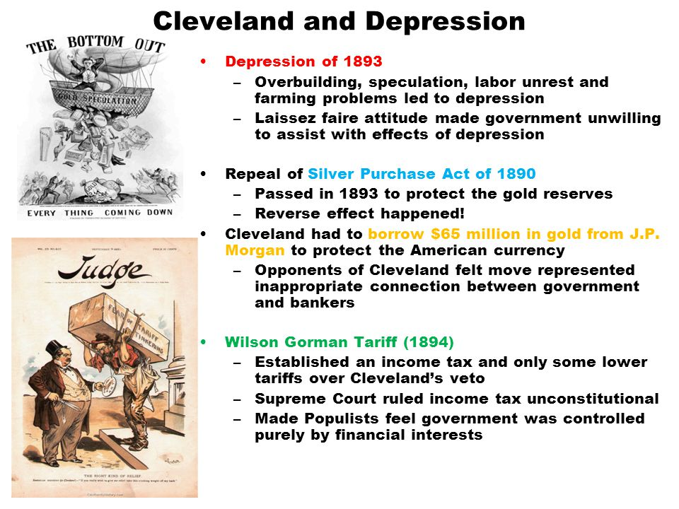 Cleveland and Depression