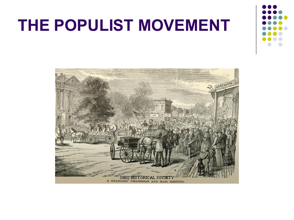 emergence of populist movement 2018-6-13  populist movement: populist movement, in us history, the politically oriented coalition of agrarian reformers in the middle west and south that advocated a wide range of economic and political legislation in the late 19th century.