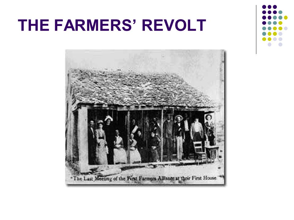 THE FARMERS' REVOLT