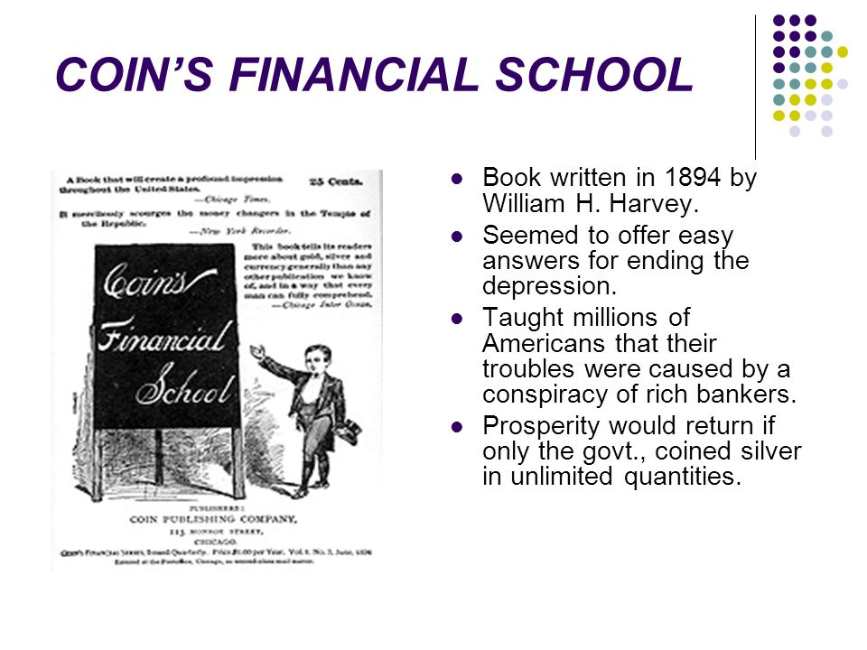 COIN'S FINANCIAL SCHOOL