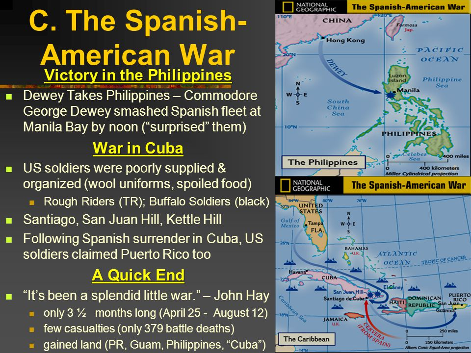 C. The Spanish-American War