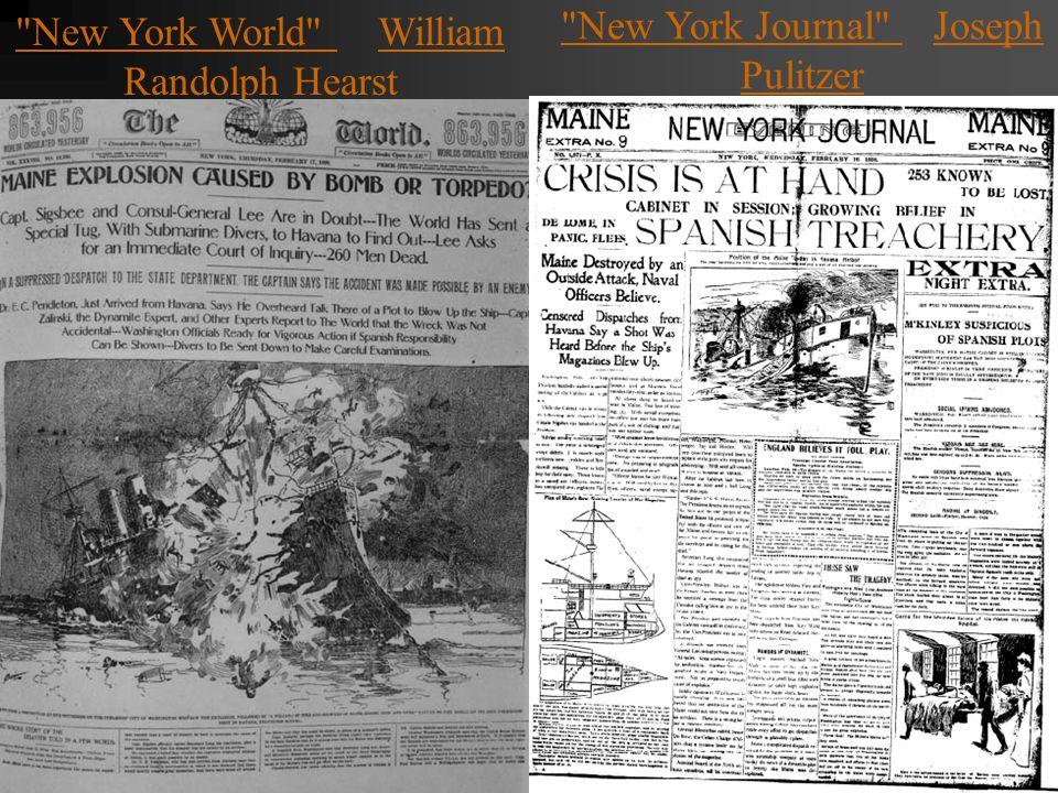 New York World William Randolph Hearst