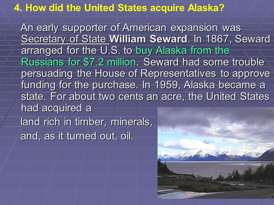 land rich in timber, minerals, and, as it turned out, oil.