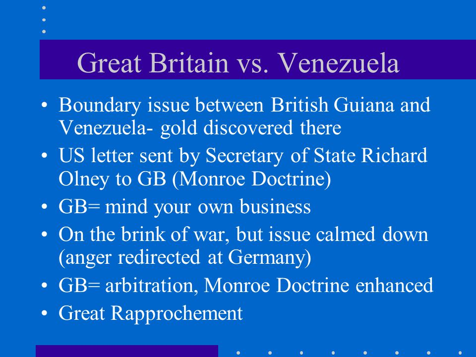 Great Britain vs. Venezuela