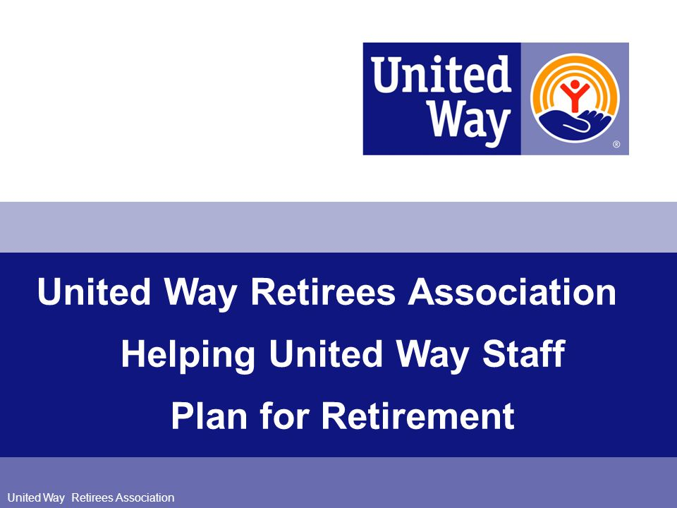 Helping United Way Staff