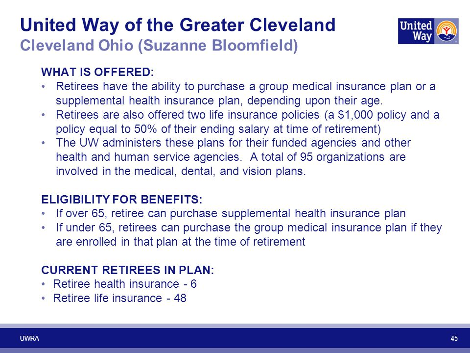 United Way of the Greater Cleveland Cleveland Ohio (Suzanne Bloomfield)