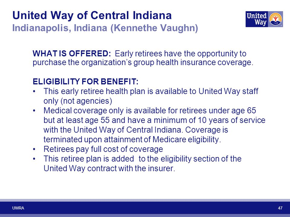 United Way of Central Indiana Indianapolis, Indiana (Kennethe Vaughn)