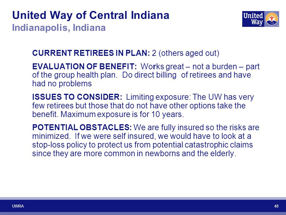 United Way of Central Indiana Indianapolis, Indiana