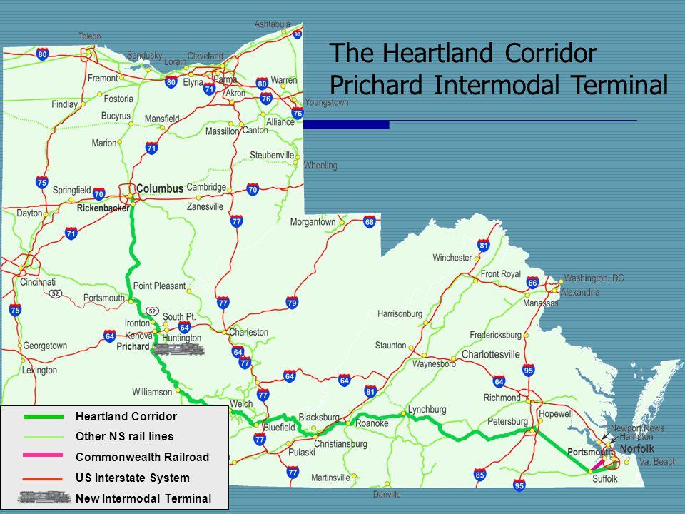 The Heartland Corridor Prichard Intermodal Terminal