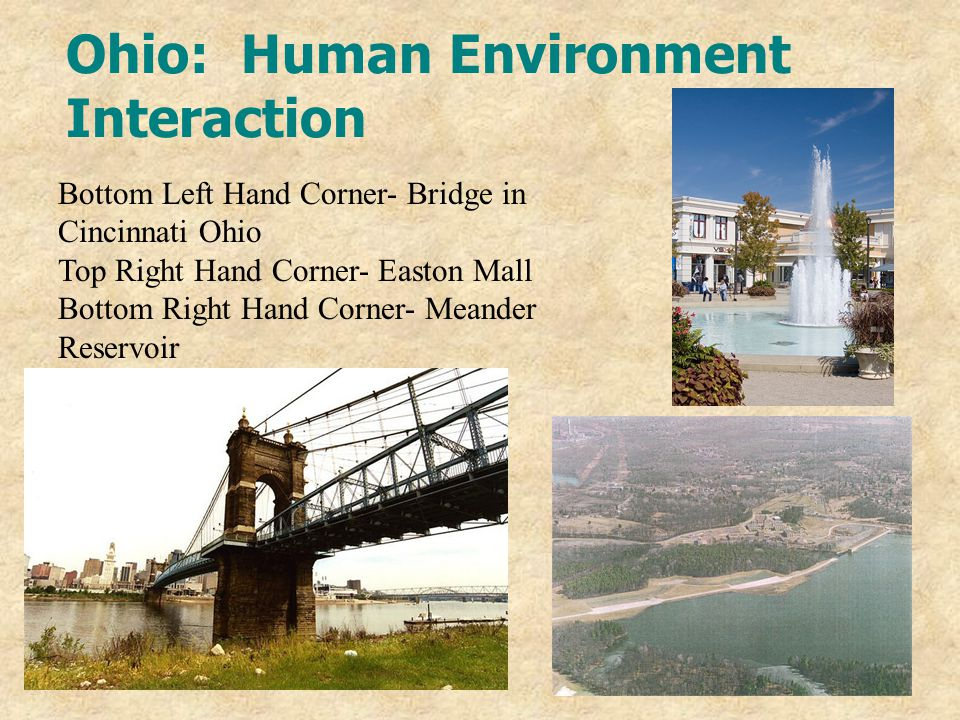 Ohio: Human Environment Interaction