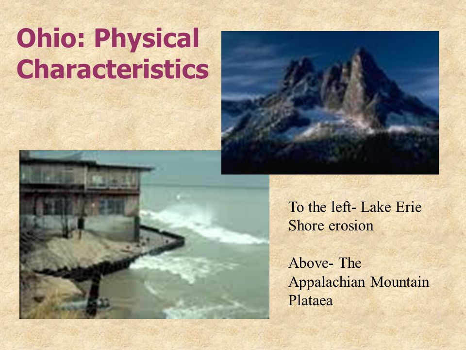 Ohio: Physical Characteristics