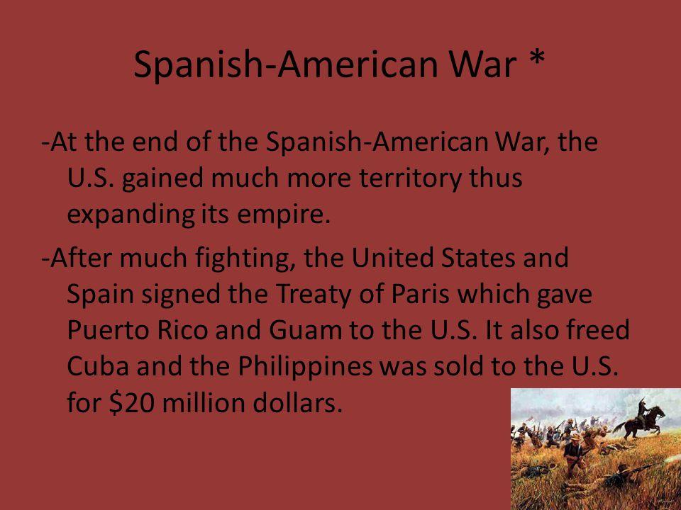 Spanish-American War *