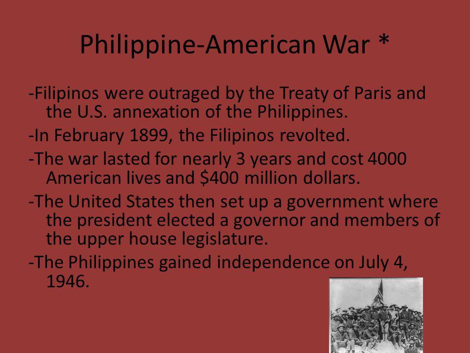 Philippine-American War *