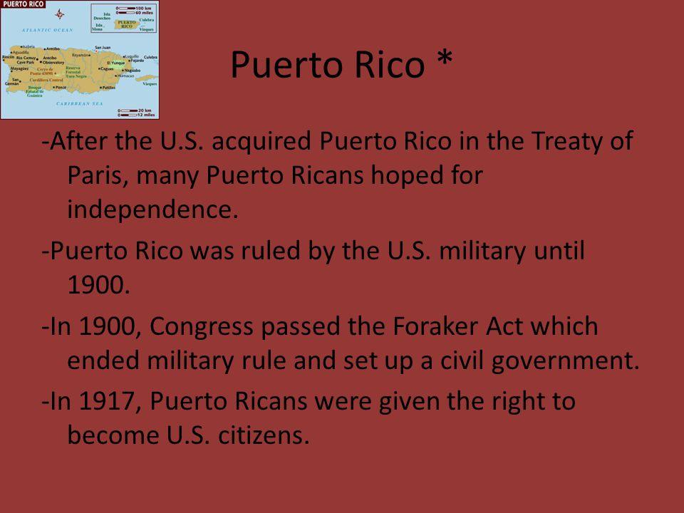 Puerto Rico *