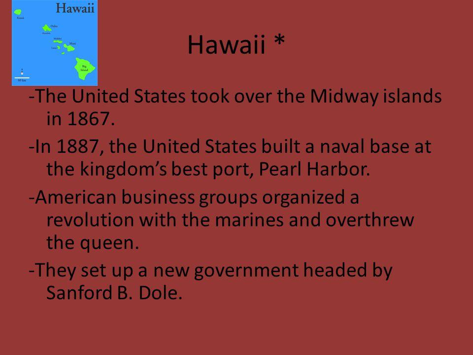 Hawaii *