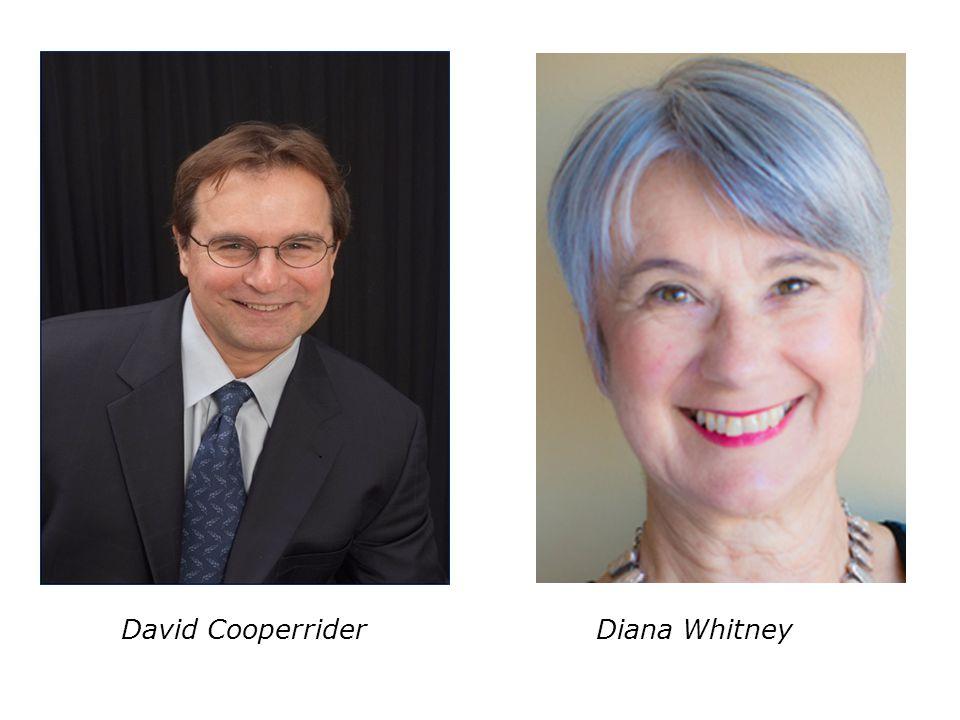 David Cooperrider Diana Whitney