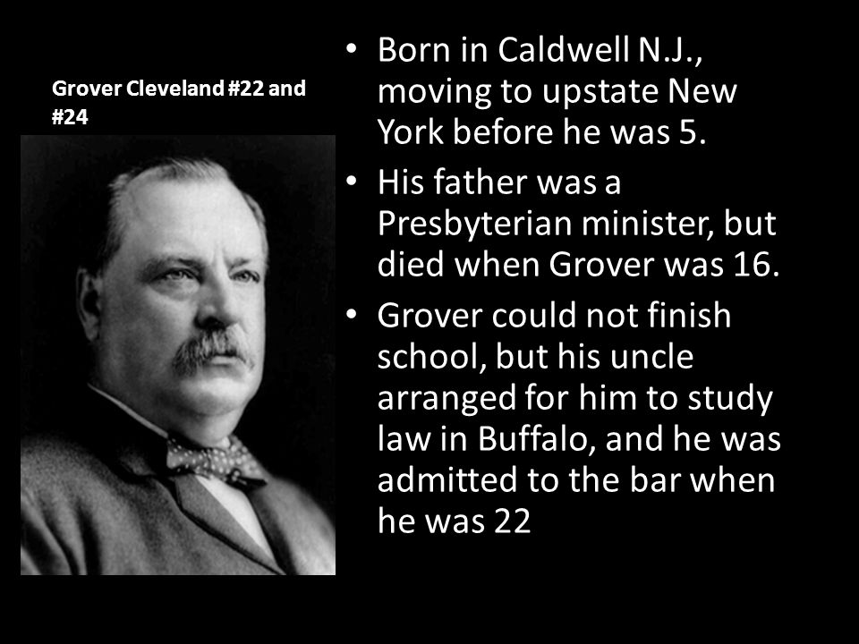 Grover Cleveland #22 and #24
