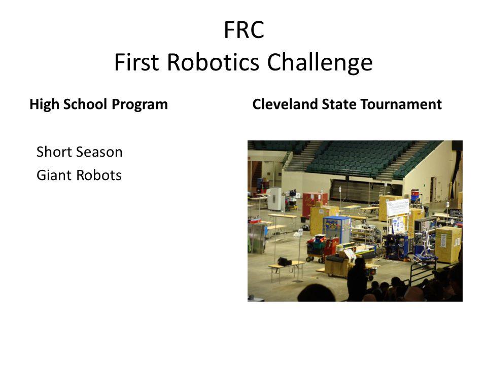 FRC First Robotics Challenge
