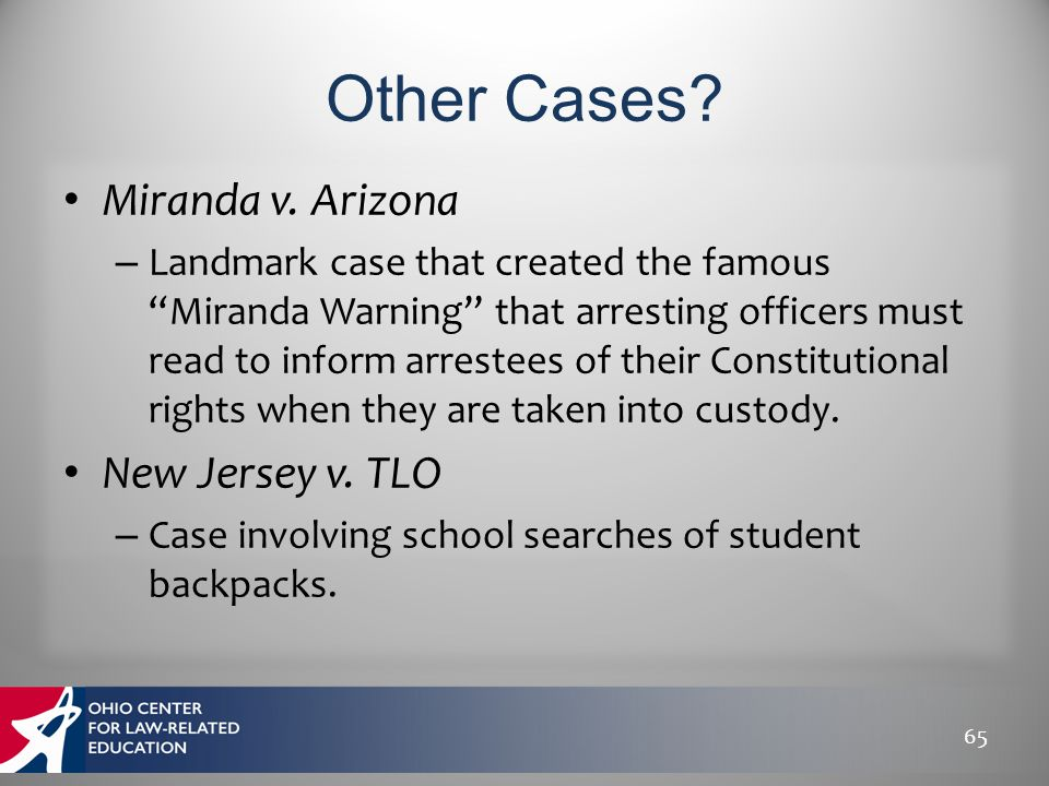 the arizona v fulminante case essay Summary of arizona v fulminante citation: have you written case briefs that you want to share with our community get compensated for submitting them here.