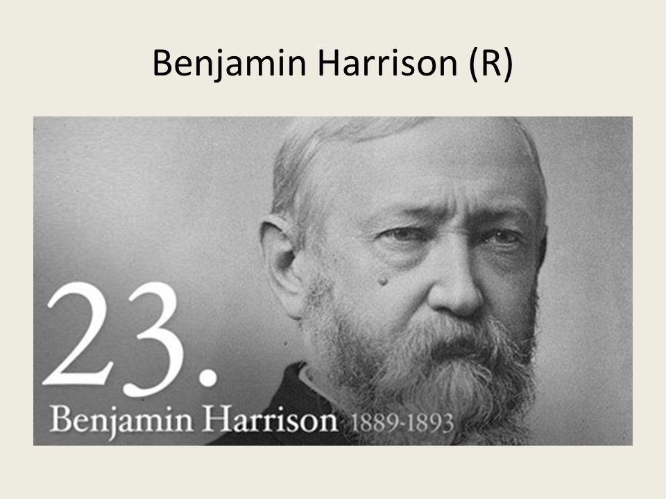 Benjamin Harrison (R)