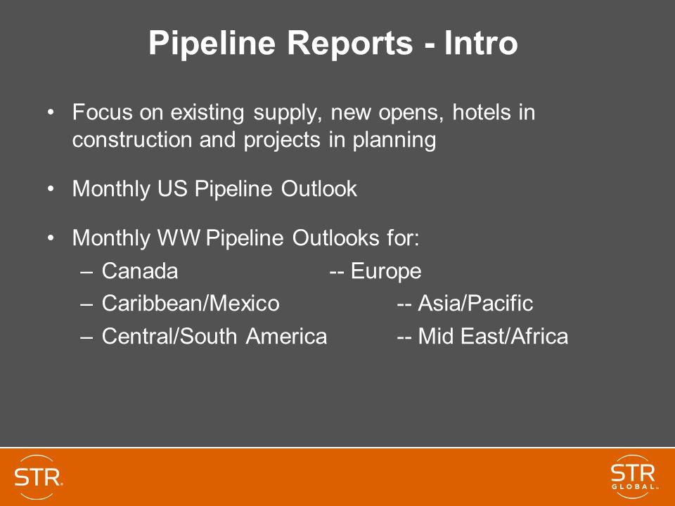 Pipeline Reports - Intro