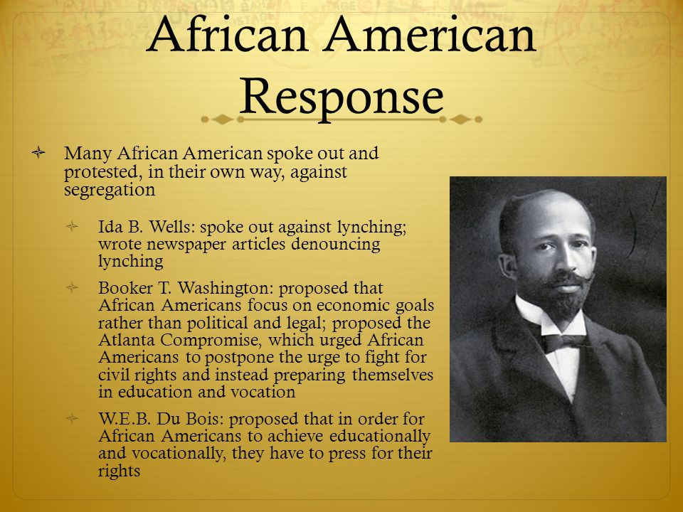 African American Response