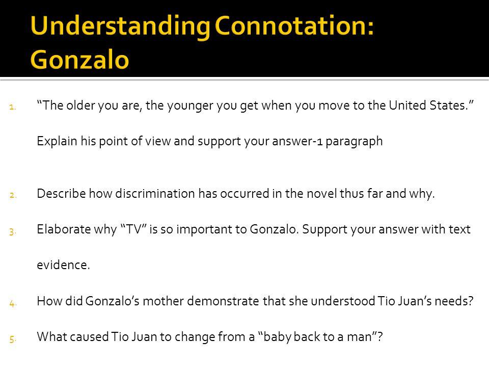 Understanding Connotation: Gonzalo