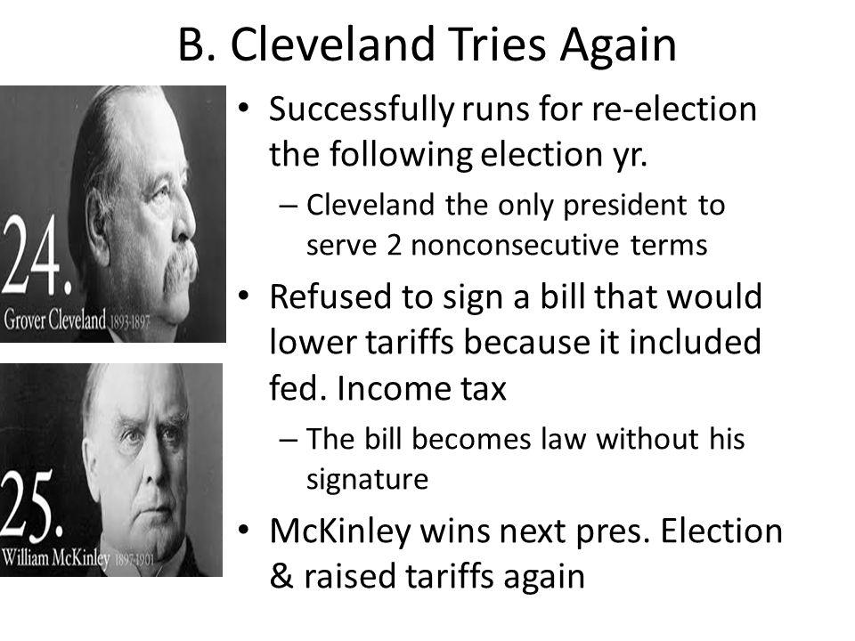 B. Cleveland Tries Again