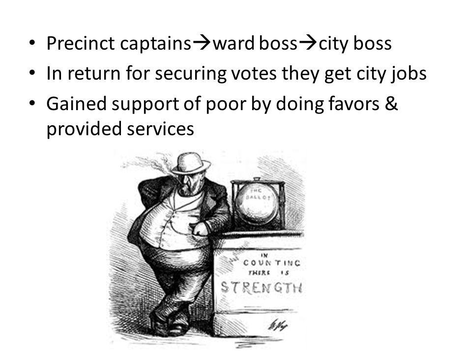 Precinct captainsward bosscity boss
