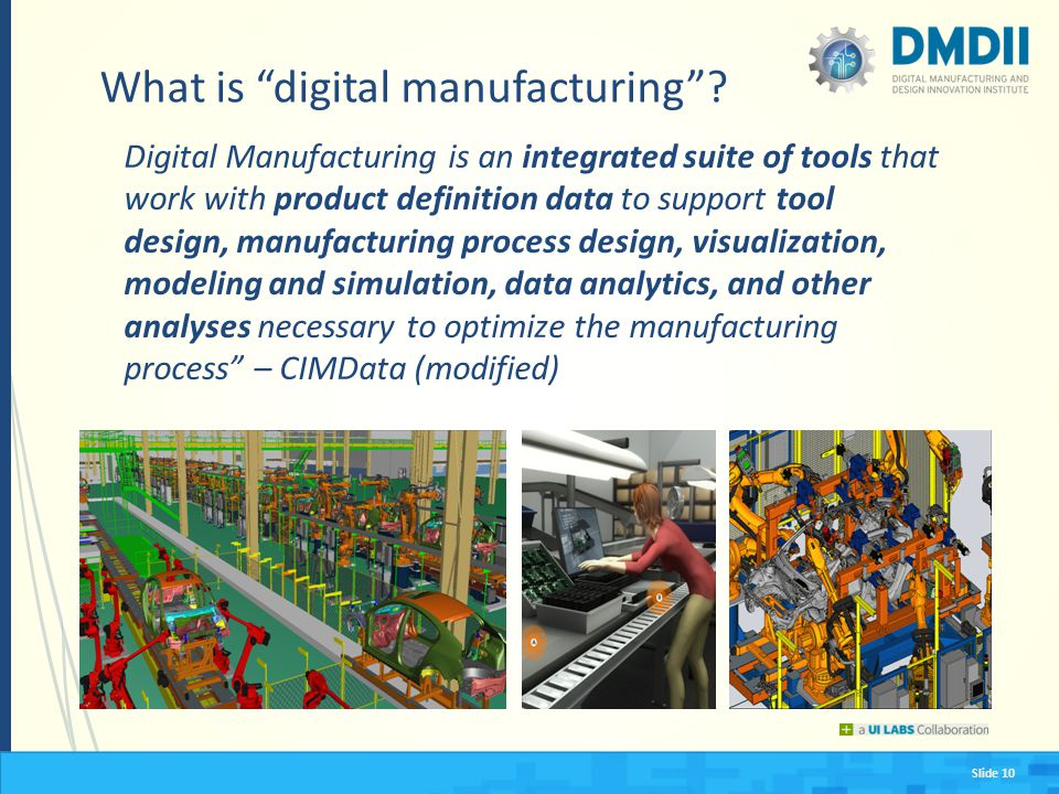 What is digital manufacturing