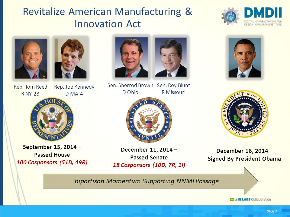 Revitalize American Manufacturing & Innovation Act
