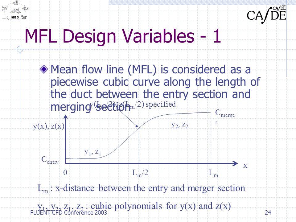 MFL Design Variables - 1