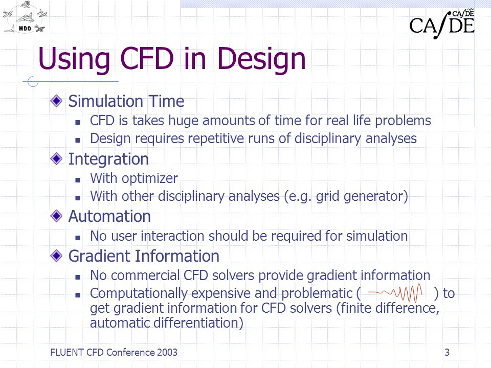 Using CFD in Design Simulation Time Integration Automation