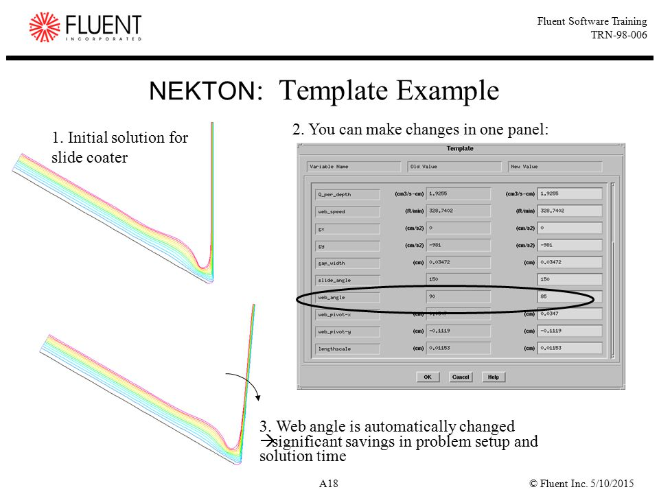 NEKTON: Template Example
