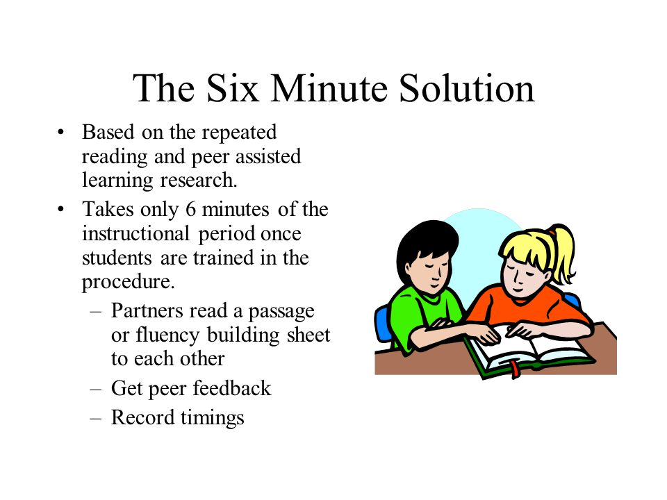 The Six Minute Solution