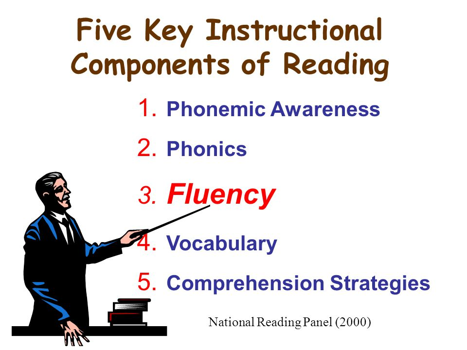 Five Key Instructional Components of Reading