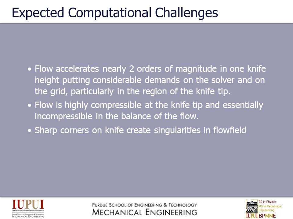 Expected Computational Challenges