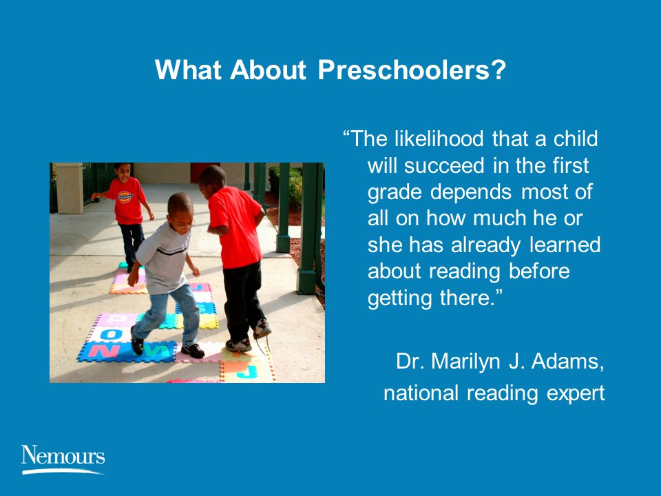 What About Preschoolers
