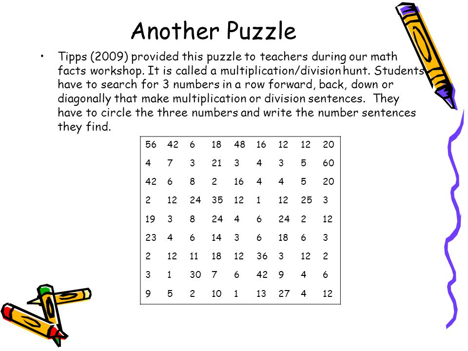 Another Puzzle