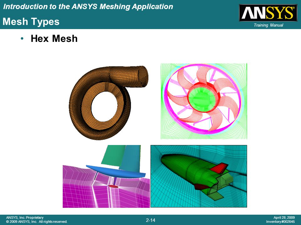 Mesh Types Hex Mesh Hexahedral Meshes…..