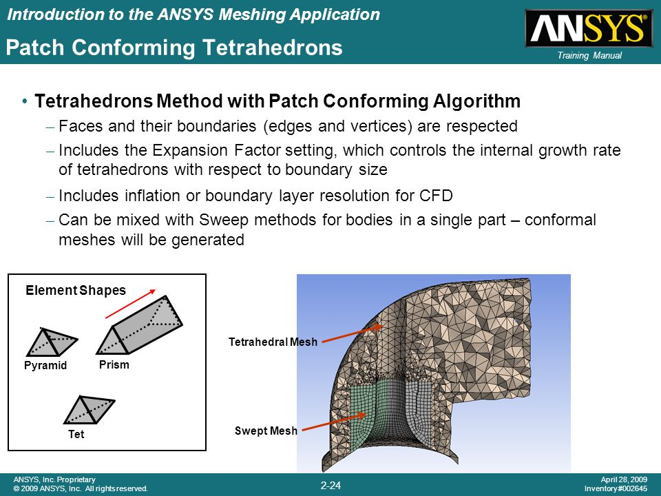 Patch Conforming Tetrahedrons