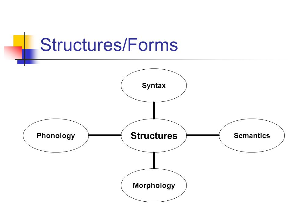 Structures/Forms