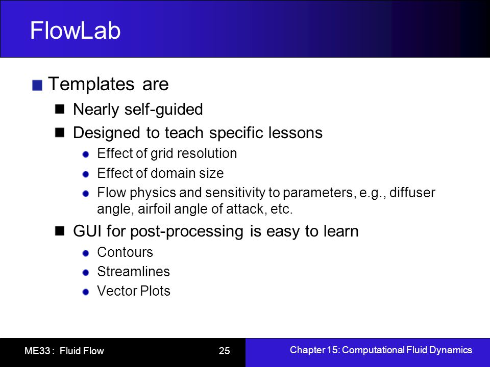 FlowLab Templates are Nearly self-guided